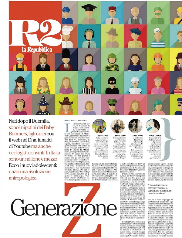 Generazione Z La Repubblica