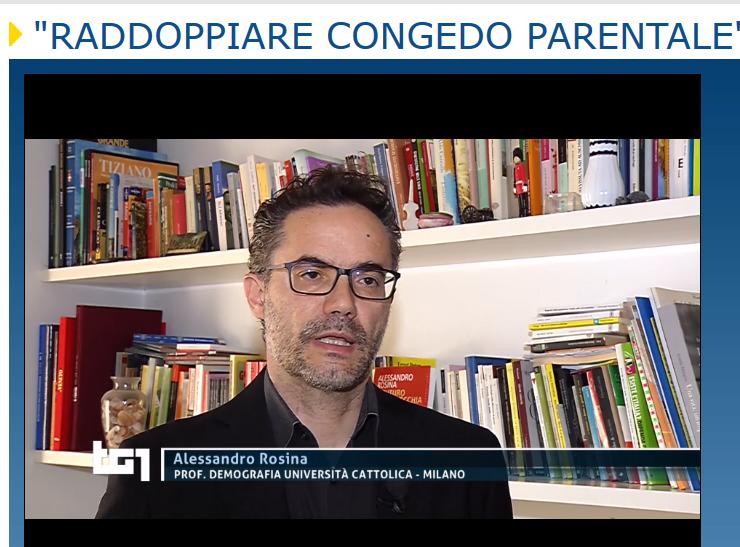 TG1: Rosina sul congedo parentale RAI 1